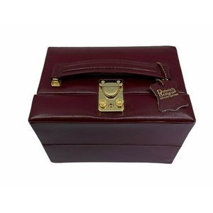 "Dulwich Designs Travel Jewelry Box 7"" Wide 5"" Tall"